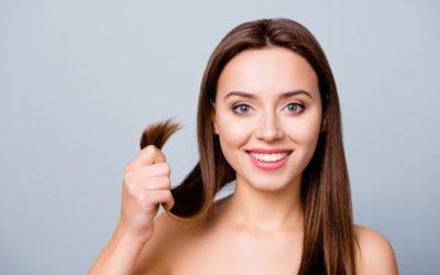 Saure Rinse für glänzende Haare: So funktioniert's