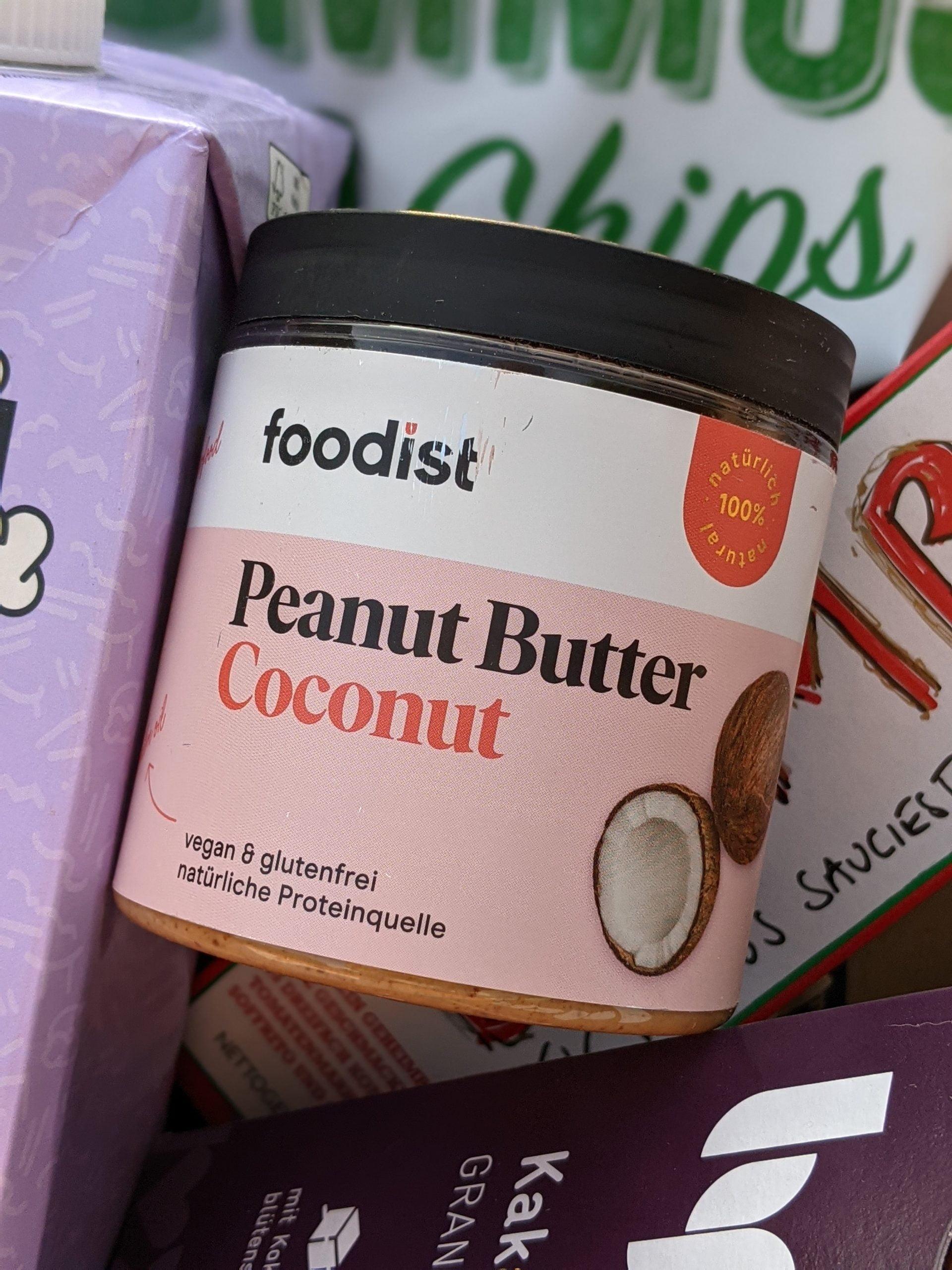 FOODIST Peanut Butter mit Kokosnuss